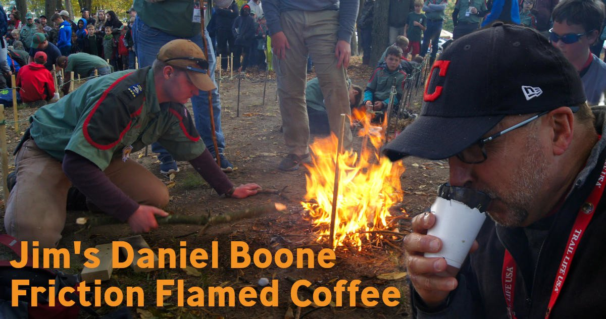 Jim's Daniel Boone Friction Flamed Coffee